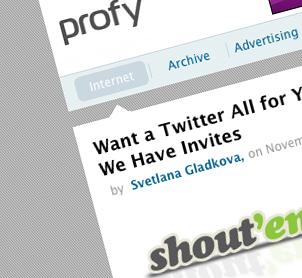 Profy Wants Us To Itself!