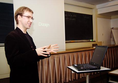 Ivan talking about blogging!