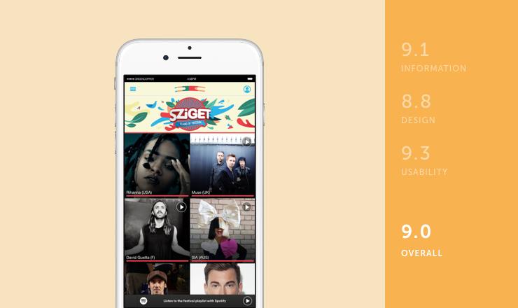Sziget mobile festival app