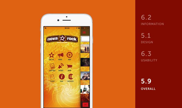 Nova Rock mobile festival app