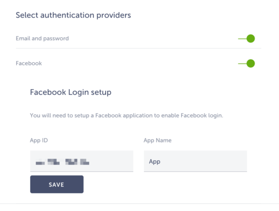 authentication providers