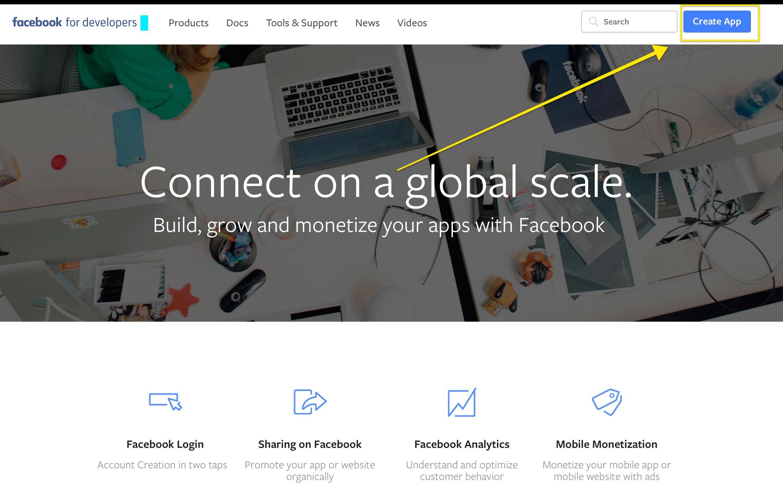 mobile app builder facebook