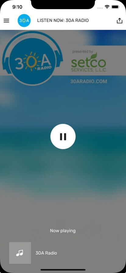 30a radio app