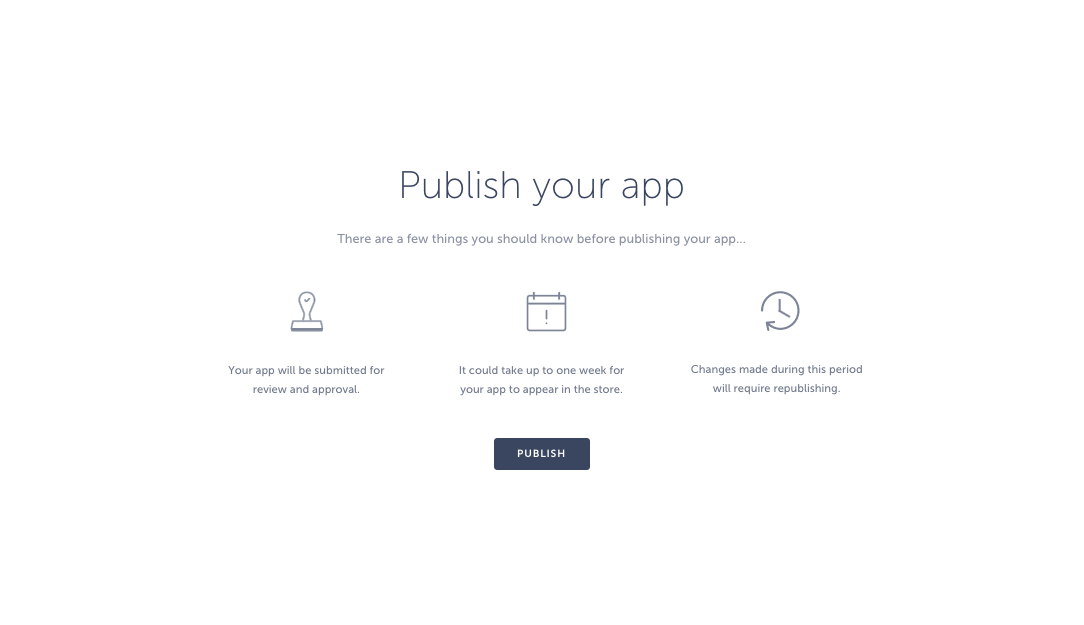 publish your android mobile app