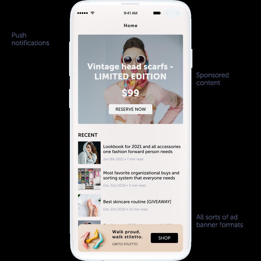 mobile app ads