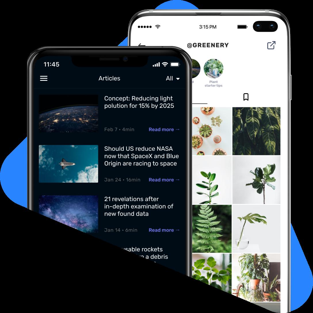 shoutem app development