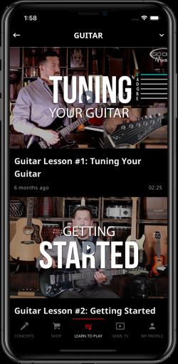 godps guitar lessons