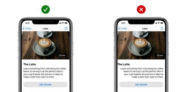 app design allignment
