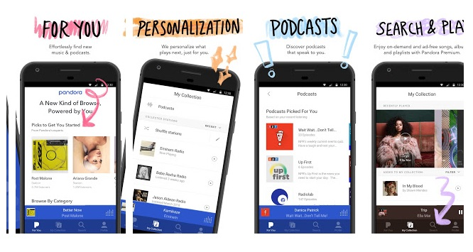 pandora radio app